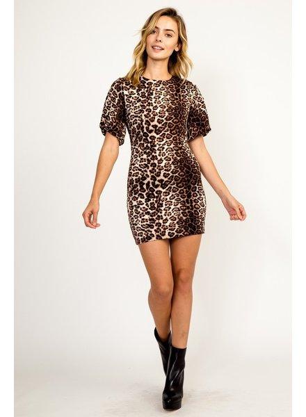 Nala Leopard Dress