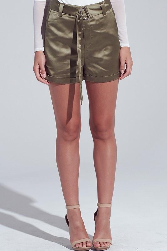 Nadia Satin Shorts
