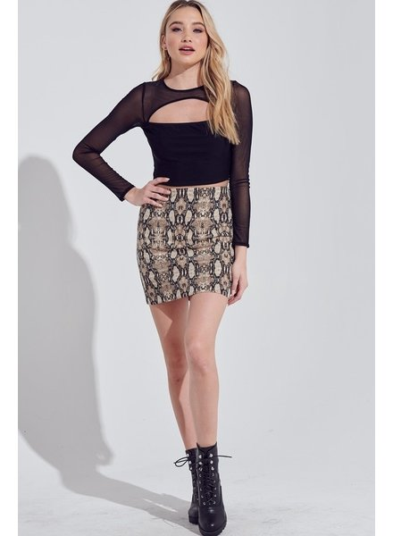 Cold Hearted Skirt