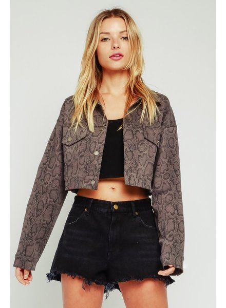 Mamba Cropped Jacket