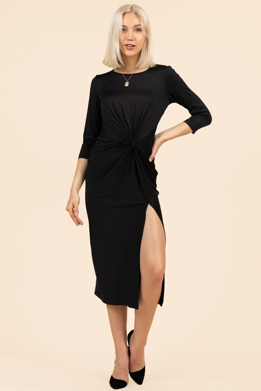 Minka Twist Dress