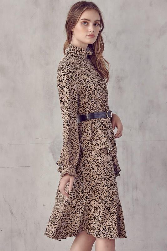 Zuri Leopard Dress