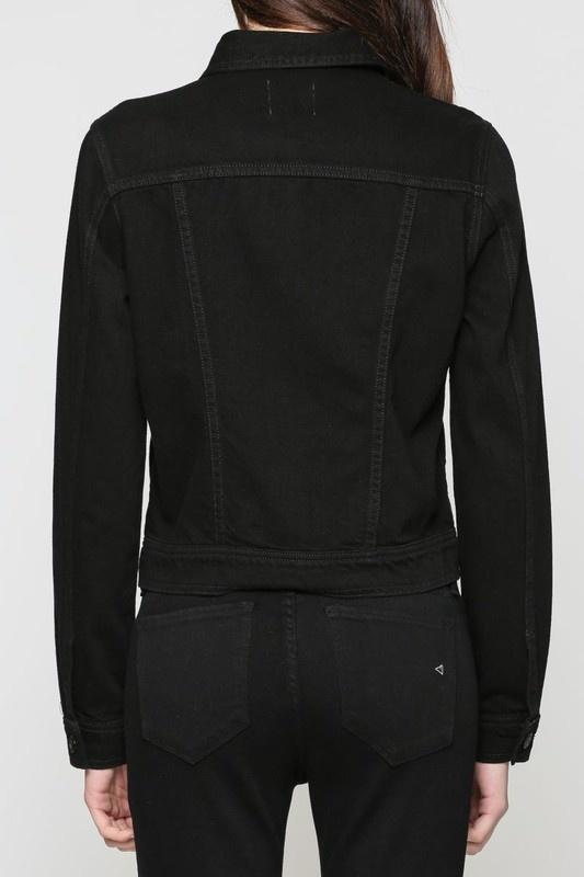 Dakota Black Denim Jacket