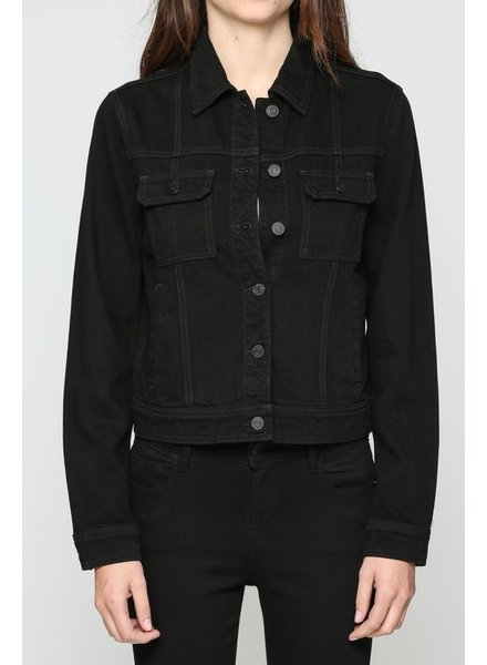 Dakota Black Denim Jacket