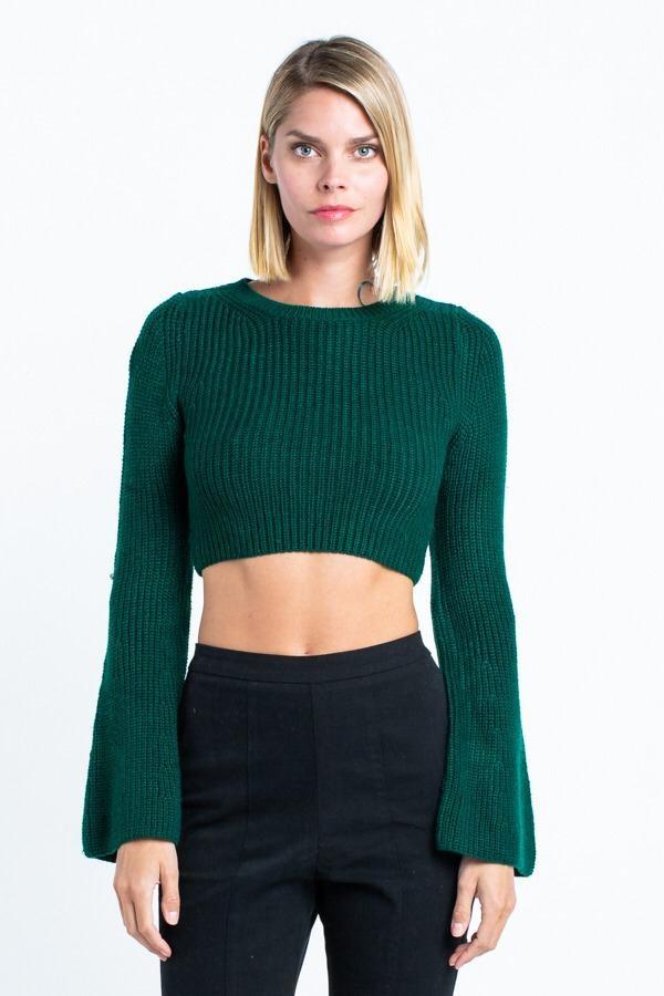 Anya Flare Sleeve Sweater