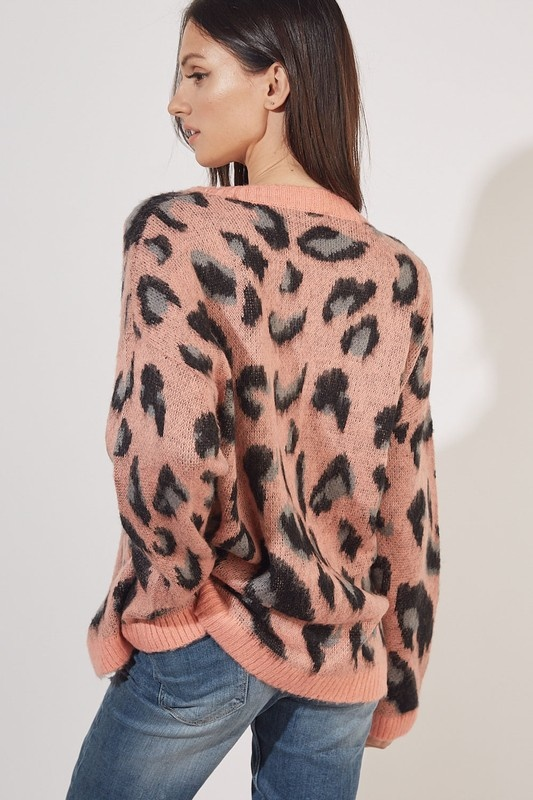 Amara Leopard Sweater