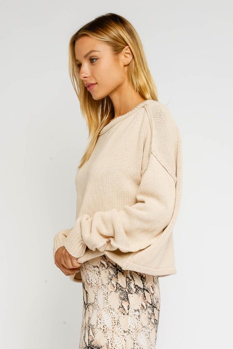 Almond Sweater