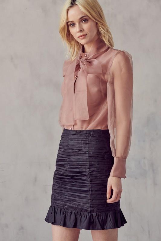 Beverly Ruffle Skirt