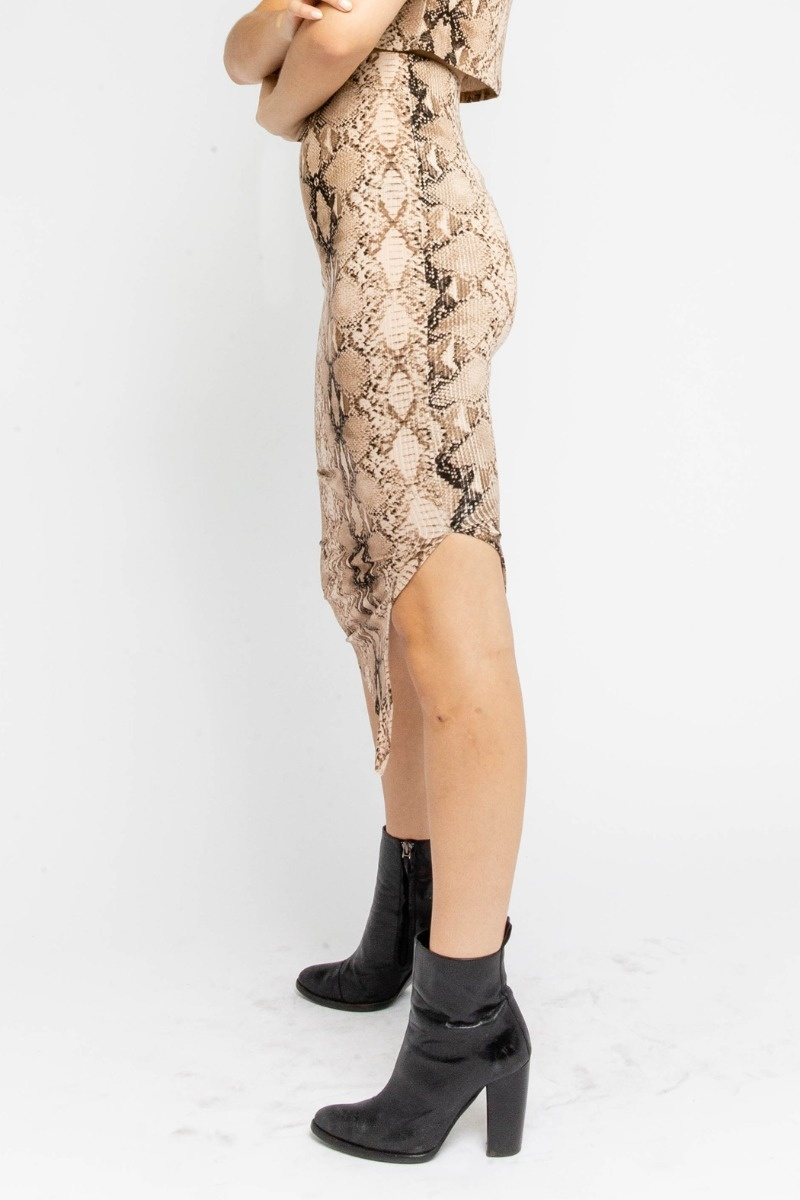 Serpentine Midi Skirt