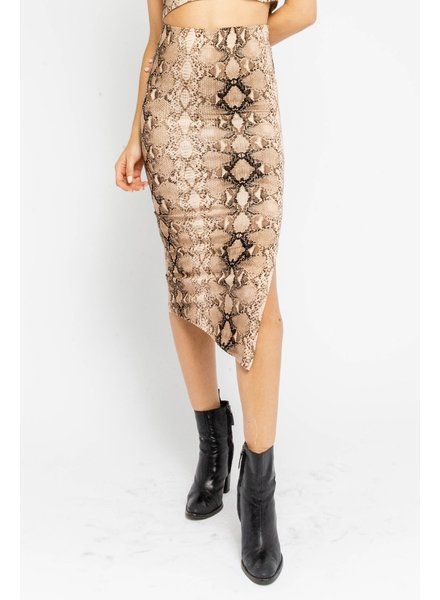 Serpentine Midi Skirt