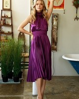 Monroe Pleated Dress