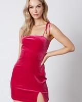 Naomi Velvet Dress