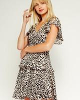Kesia Leopard Dress