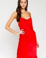 Genevieve Satin Dress