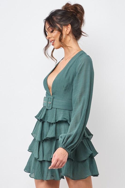 Ella Ruffle Dress