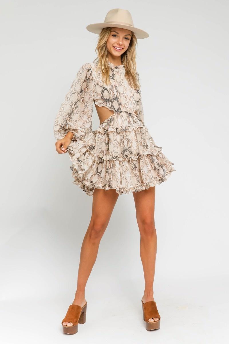 Kia Ruffle Dress