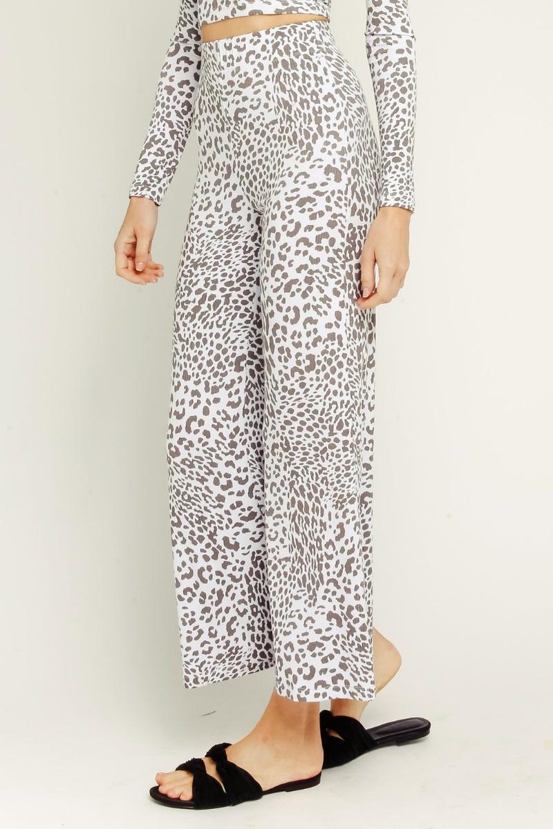 Ash Leopard Pants