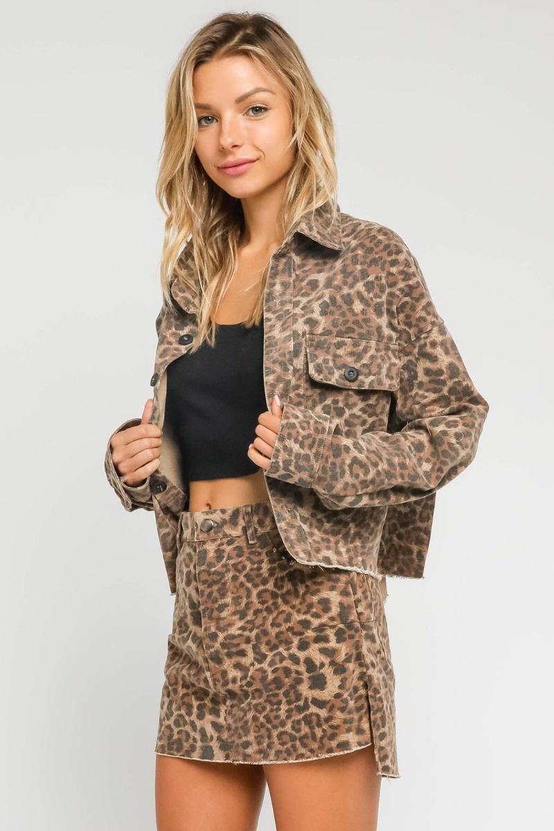 Jolie Leopard Jacket