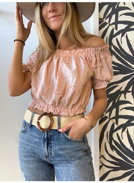 Lilly Eyelet Top