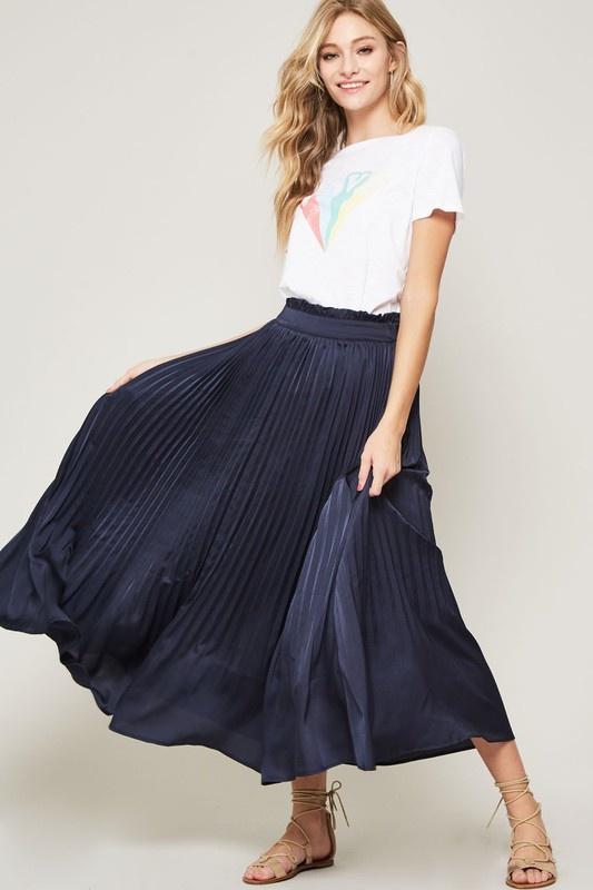 Elsie Pleated Skirt