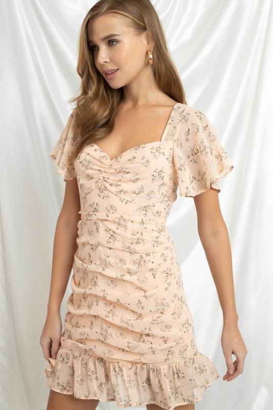 Pretty in Peach Dress