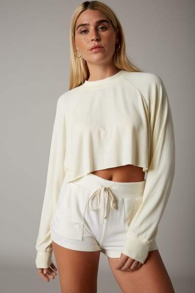 Cut Off Cropped Pullover