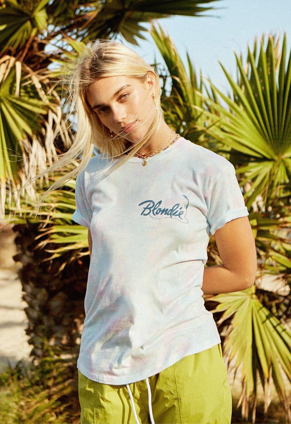 Blondie Call Me Weekend Tee