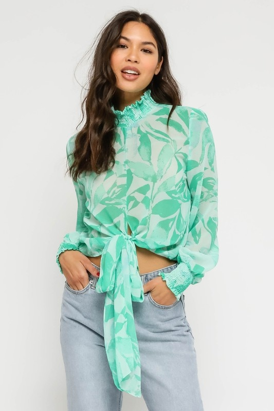 Aqualina Blouse