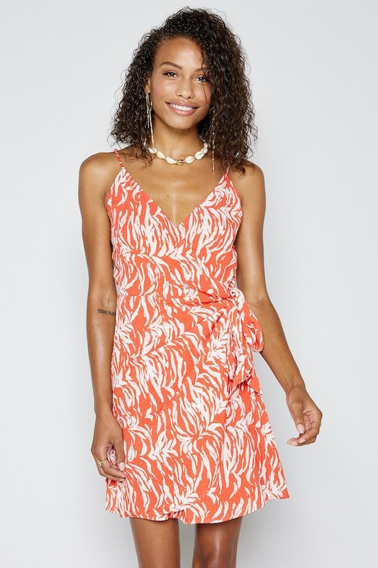 Costa Wrap Dress