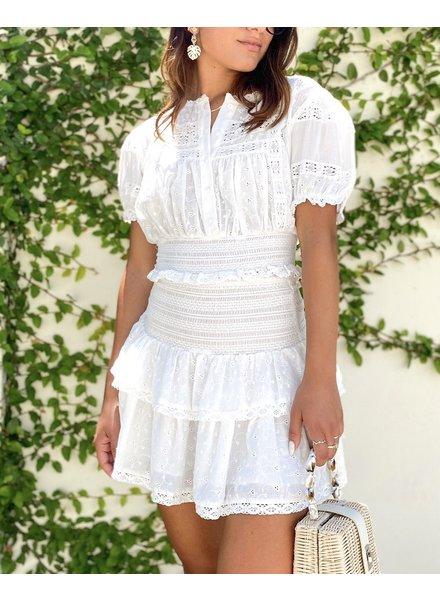 Francesca Eyelet Skirt