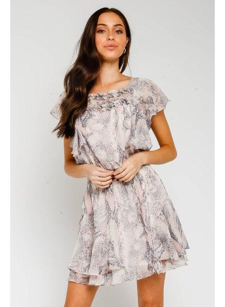 Eden Ruffle Dress