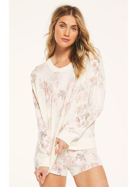 Z SUPPLY Elle Floral Long Sleeve Top