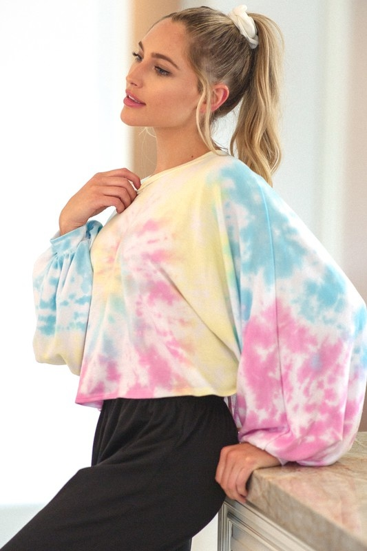 Rainbow Swirl Sweatshirt