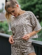 Purr Leopard Shorts
