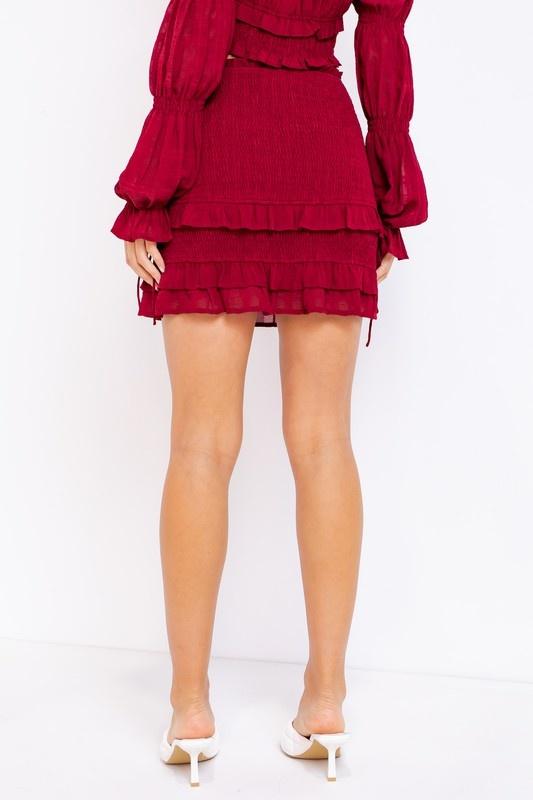 Elise Smocked Skirt