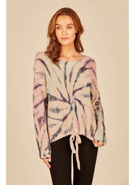 Winter Pastel Swirl Sweater