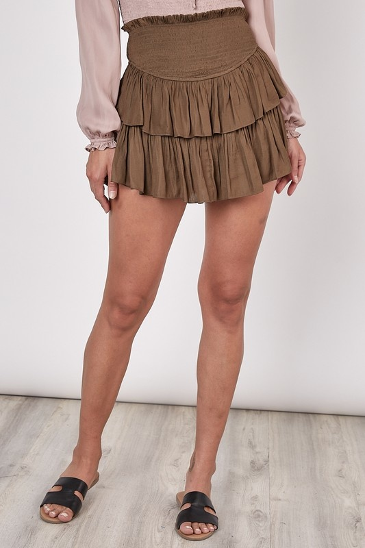 Sienna Smocked Skirt