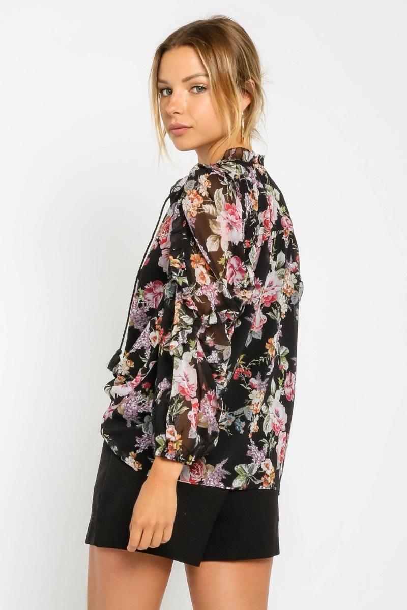 Tilly Floral Blouse