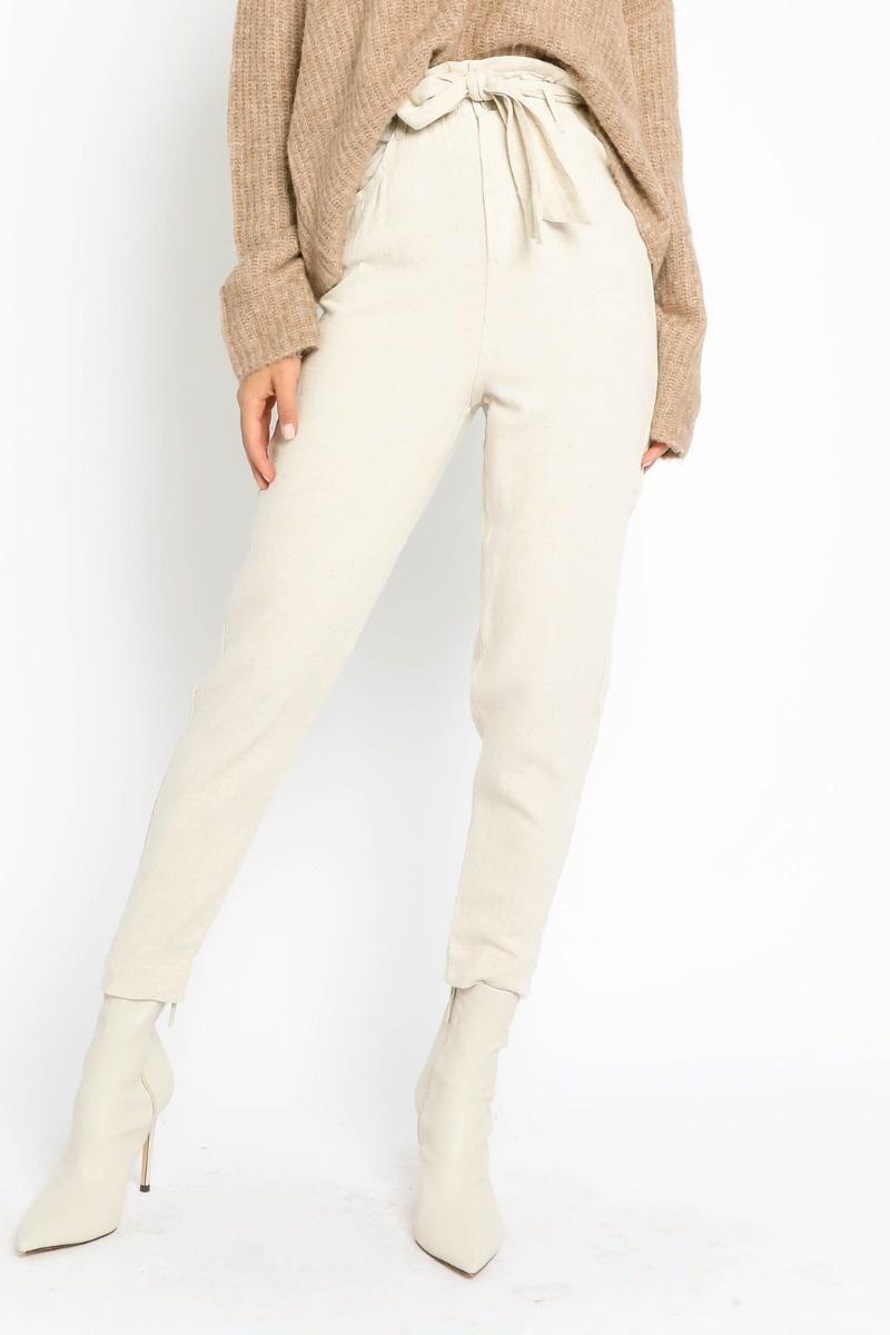 Jade Belted Pants