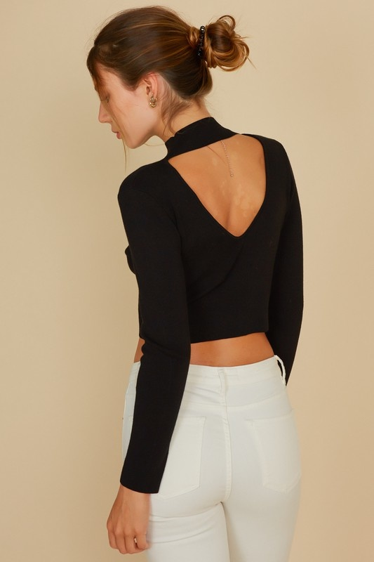 Muse Cropped Sweater