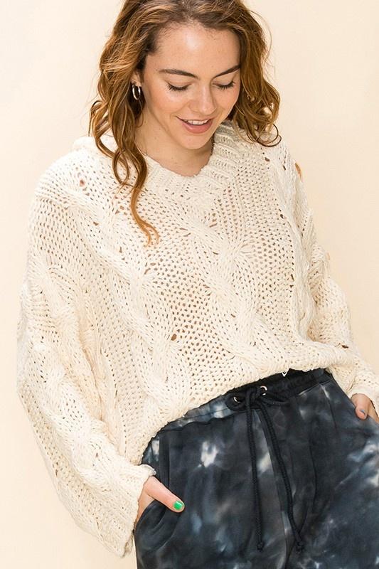 Brenna Hooded Sweater