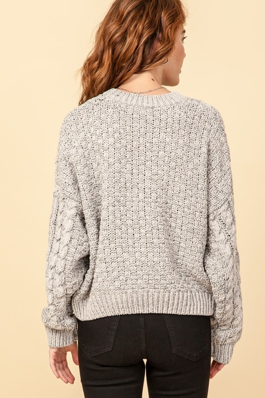 Alice Cable Knit Sweater