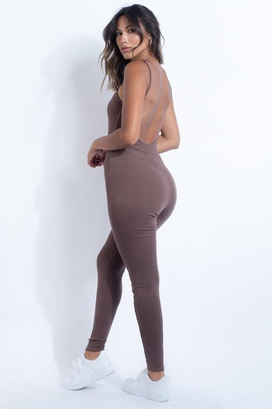 Simone Ribbed Jumpsuit