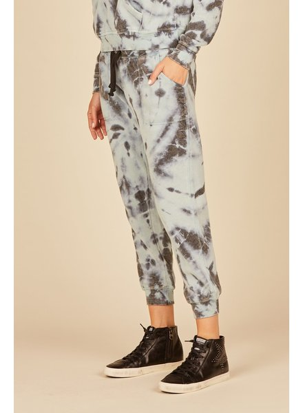 Artic Tie Dye Burnout Joggers