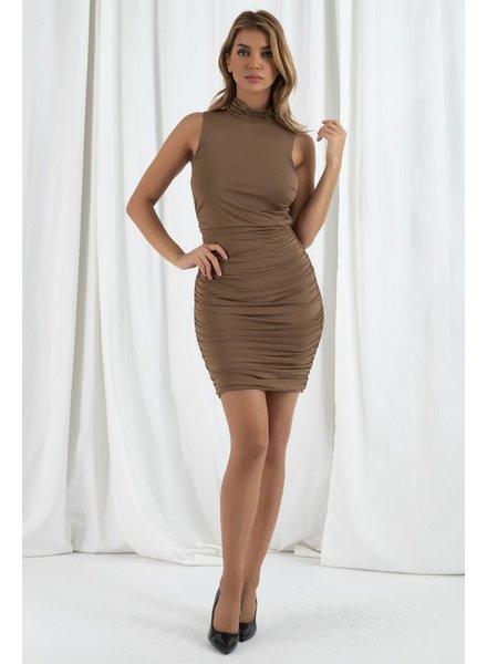 Chantal Ruched Dress