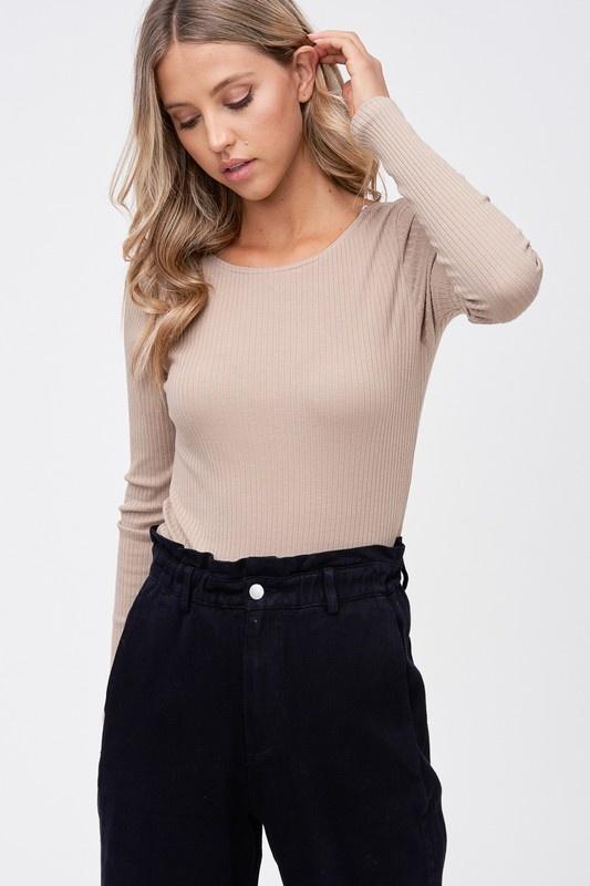 Laney Low Back Bodysuit