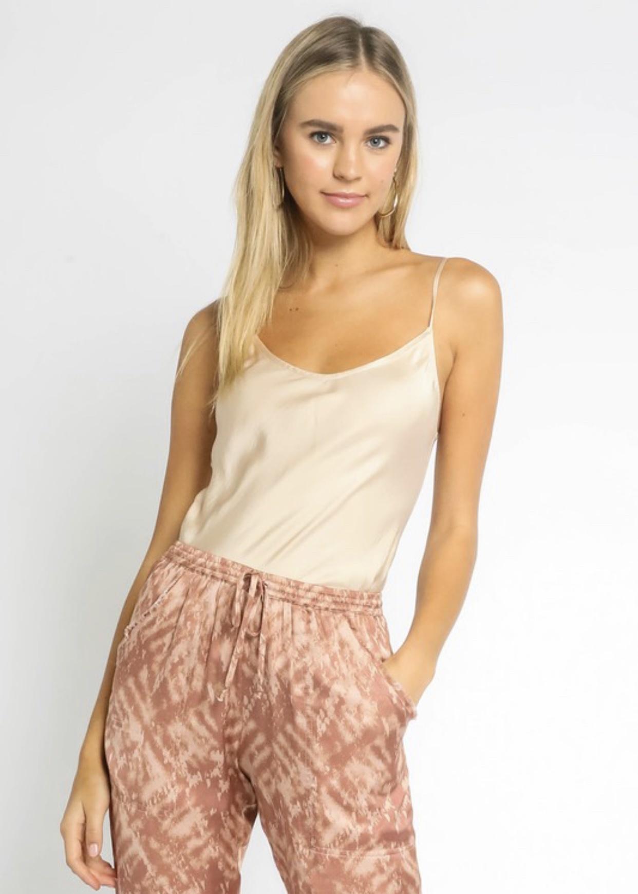 Paige Satin Cami
