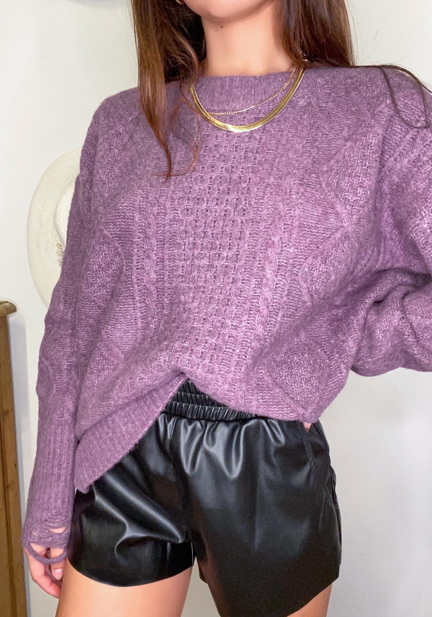 Wisteria Sweater