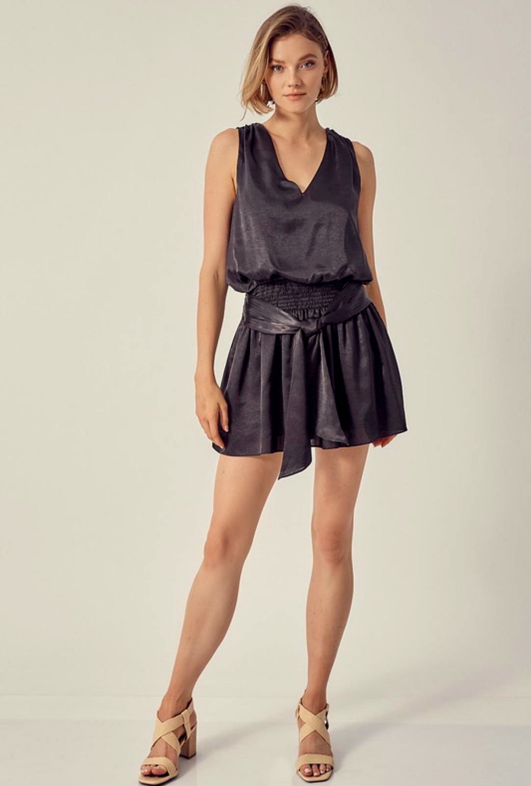 Danielle Satin Dress