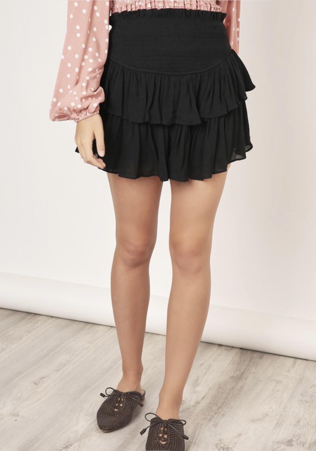 Chiara Smocked Skirt